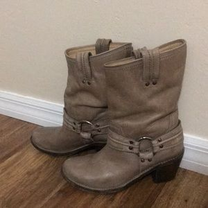 Gray Frye boots. Only worn a few times.